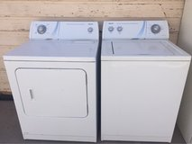 Admiral washer and electric dryer set in Alamogordo, New Mexico