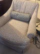cute leopard chair in The Woodlands, Texas