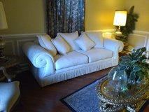 white couch in Camp Lejeune, North Carolina