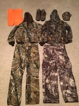 Camouflage Hunting clothes with Boots in Fort Leonard Wood, Missouri