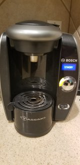 Tassimo Coffee Maker and holder in Kingwood, Texas
