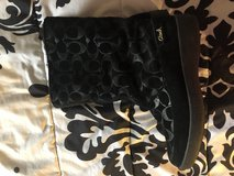 Authentic black Coach Boots size 8 in Lawton, Oklahoma