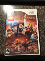 LEGO the Lord of the Rings for Nintendo Wii in Alamogordo, New Mexico