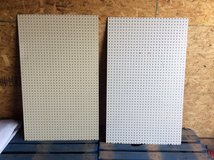 46 1/2IN x 28 1/2IN x 1/4IN COMMERCIAL THICK PEGBOARD in Alamogordo, New Mexico