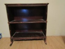 Antique or vintage clawfoot bookshelf in Chicago, Illinois