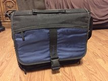 Targus Laptop & Tablet Shoulder Bag (Black & Blue) in Glendale Heights, Illinois