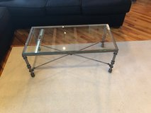 Coffee table, 2 end tables, and a sofa table in Naperville, Illinois