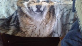NEW handcrafted Wolf Blanket in Fort Campbell, Kentucky