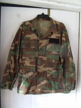 Camo Military Shirt / Jacket - Medium Reg in Wilmington, North Carolina