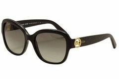 CLEARANCE *Women's MICHAEL KORS Sunglasses Blacl//Black Glitter 55 in Kingwood, Texas
