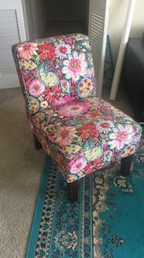 Floral chair in Bolling AFB, DC