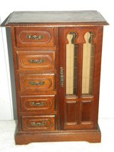 Wooden jewelry box in Fort Riley, Kansas