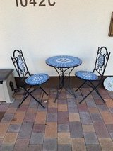 Mosaic Table and 2 Chairs in Ramstein, Germany
