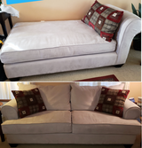Sofa and Chaise in Joliet, Illinois