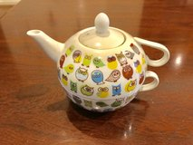Owl teapot/teacup set in The Woodlands, Texas