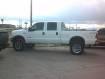 2003 FORD F 250 HD, CREW CAB, XLT, 4X4, DIESEL in Alamogordo, New Mexico