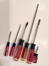 6pc Flat Head Craftsman Screwdrivers in Wheaton, Illinois