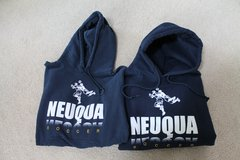 Neuqua Valley HS Soccer Blue Gildan Cotton Blend Hoodie - 2 Hoodies Available in Joliet, Illinois