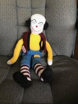 Vintage Hand made / Knitted Clown in Naperville, Illinois