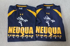 Neuqua Valley HS Soccer Blue/Gold Under Armour Loose Heat Gear - 2 Shirts Available in Westmont, Illinois