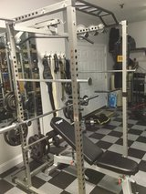 Valor Fitness BD-33 Heavy Duty Power Cage with benches attachments and 500 lbs! in Camp Lejeune, North Carolina