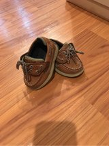 Boy toddler Sperry shoes in Okinawa, Japan