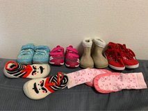 Size 5/6 Toddler Girl Shoe Lot in Okinawa, Japan