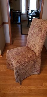 Dining chairs, upholstered in Joliet, Illinois
