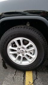 """Set of 4 / 17"""" 2018 Jeep Grand Cherokee wheels and tires like new/ used only 3,400 miles. in Joliet, Illinois"""