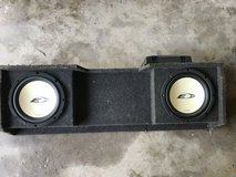 "Kenwood 1000W Amplifier and 2 -12"" Speakers in Box in Kingwood, Texas"