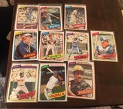 1980 Baseball Cards in Chicago, Illinois