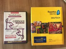 Rosetta Stone German Level 1-5 + VocabuLearn L2 in Ramstein, Germany
