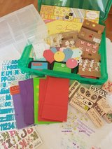 1 Craft Box And 1 Storage Box For Beads or Small Items Like Stickers in Ramstein, Germany