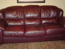 Sofa - Leather in Quantico, Virginia
