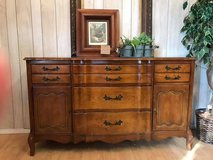 French Provincial Buffet All Wood Excellent Pick your Paint Color in Fort Leonard Wood, Missouri