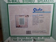 "Studio Acoustics In-Wall Stereo Speakers - 1 Pair 13"" x 9"" IW-280 8"" 8Ohms 100 w in Alamogordo, New Mexico"