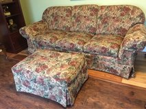 Sofa/Couch w/ Ottoman in Fort Campbell, Kentucky
