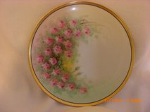"Chic Decorative Plate Pink Rose 6 1/2 ""signed OSBORNE in Alamogordo, New Mexico"