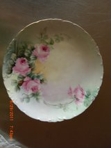Antique R.C. Rosenthal Versailles Bavaria Floral Chic Pink Roses Scalloped Plate in Alamogordo, New Mexico