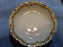"3) HAVILAND LIMOGES 5"" CLOVER LEAF FRUIT BERRY DESSERT BOWLS 1) SAUCER SCH 98 in Alamogordo, New Mexico"