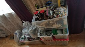 96 lbs of legos with 300 minifigures in Joliet, Illinois