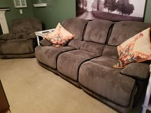 Couch and rocker (recline) in Fort Knox, Kentucky