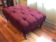 Tufted Vintage Ottoman in Fort Campbell, Kentucky