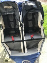 BOB double jogging stroller in Fort Lewis, Washington
