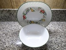 "Corelle Chutney Oval Serving Platter & 8 1/2"" Serving Bowl in Alamogordo, New Mexico"