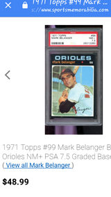 Orioles Mark Belanger in Fort Riley, Kansas