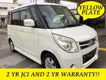 2 YR JCI AND 2 YR WARRANTY!! 2008 SUZUKI PALETTE PWR SLIDE DOOR!! FREE LOANER CARS AVAILABLE NOW!! in Okinawa, Japan