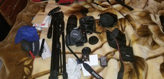 Canon T6 with lenses, filters, accessories in Fort Lewis, Washington