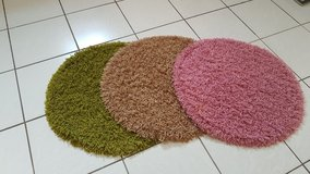 3 round carpets in Ramstein, Germany