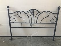 Black Queen size Canopy Bed in Aurora, Illinois